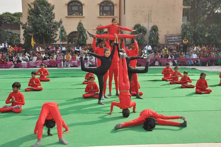 St Giri Public School-Yoga Activity