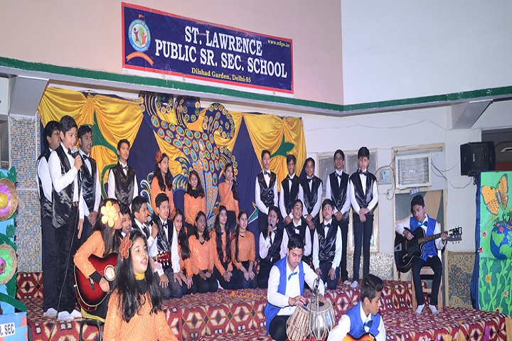 St Lawrence Public School-Singing