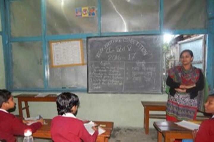Donyi Polo Vidya Niketan-Teaching Classroom