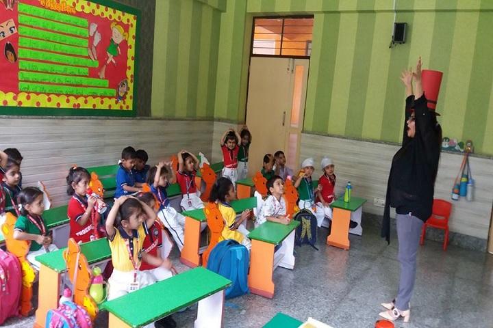 St Froebel School-Kids Classroom