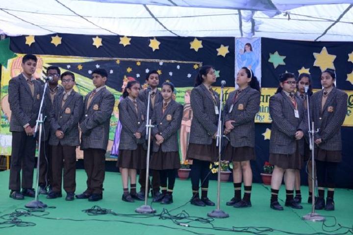 St Gregorios School-Singing