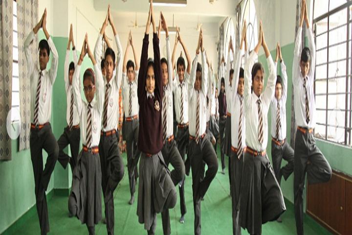 St XavierS School-Yoga