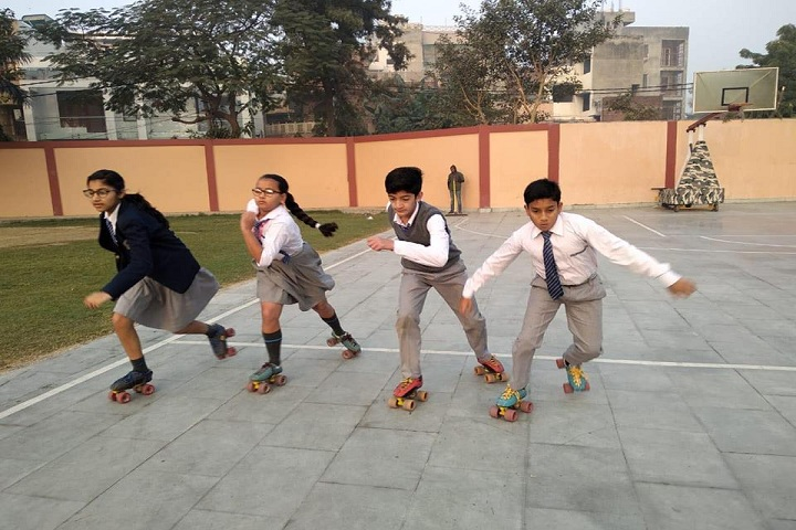 St Colombo Public School-Skating Activity