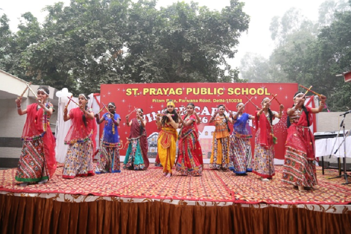 St Prayag Public School-Cultural Program