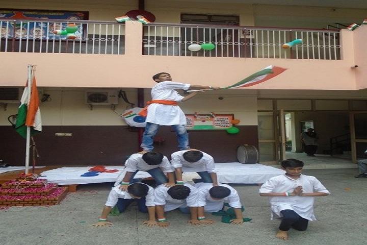 St Prayag Public School-Independence Day Celebration