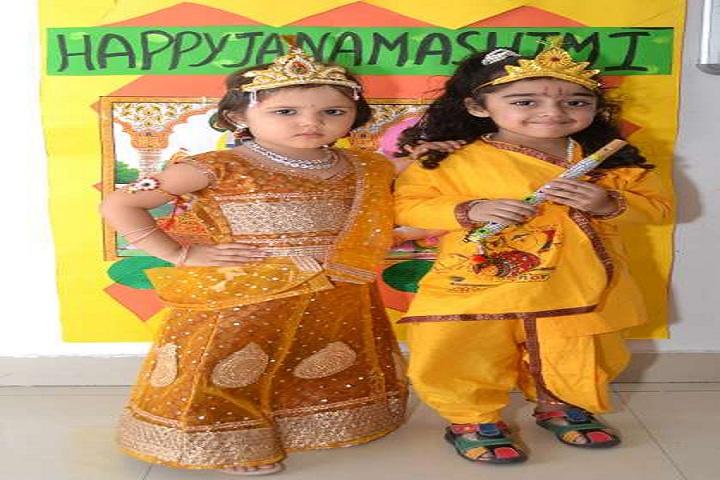 St Prayag Public School-Janmastami Celebration