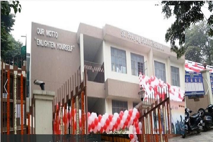 St Prayag Public School-School Building