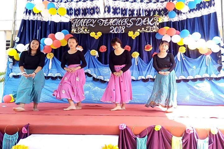 Garden Dew School-National dance