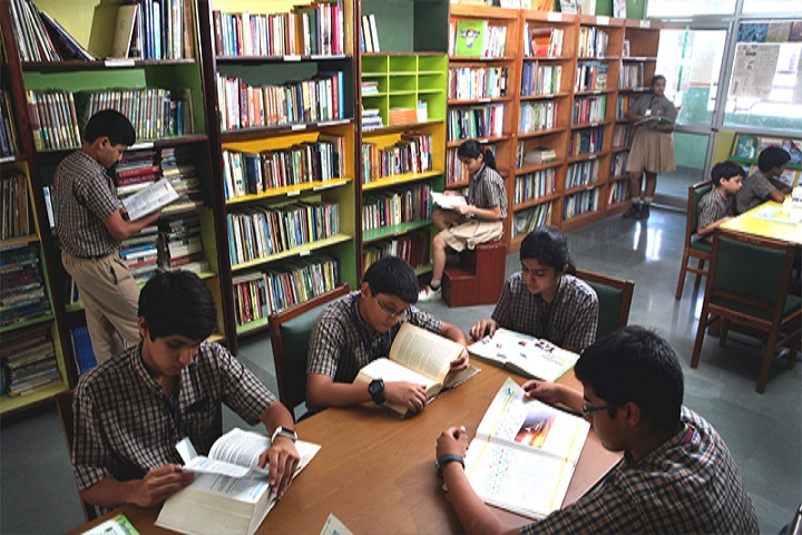 The Indian School-Library