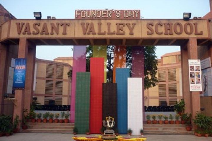 Vasant Valley School-Campus