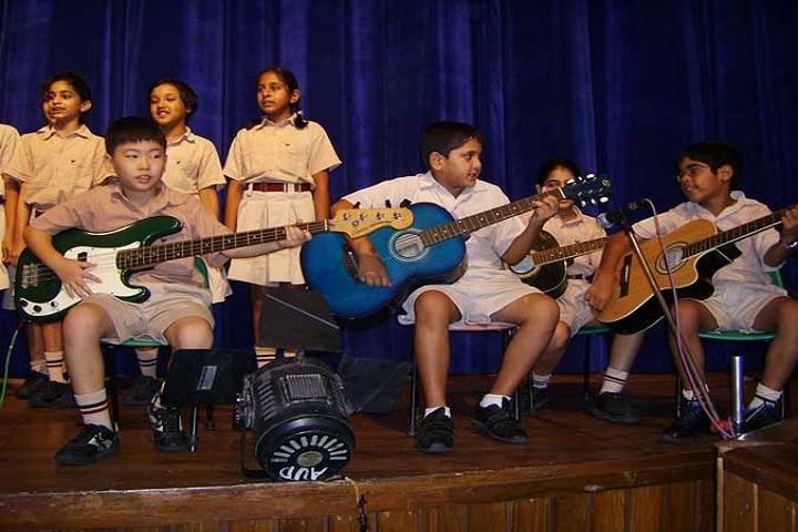 Vasant Valley School-Music-room