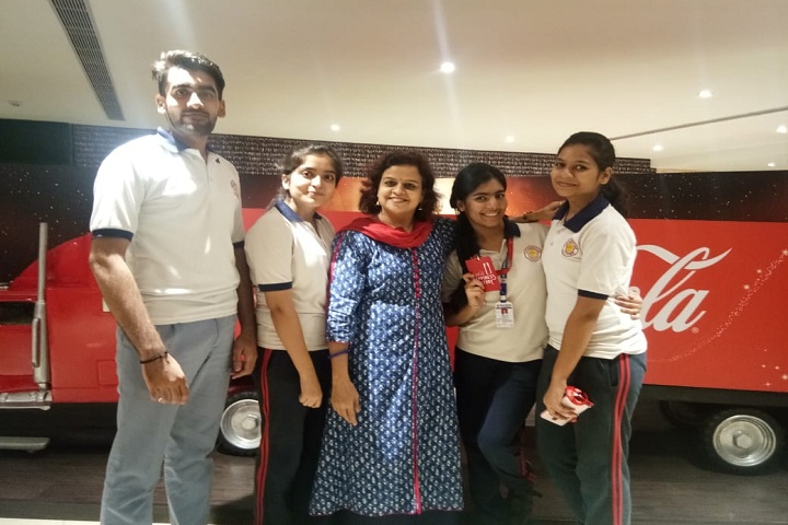 Vidya Niketan-Visit to Coca Cola factory