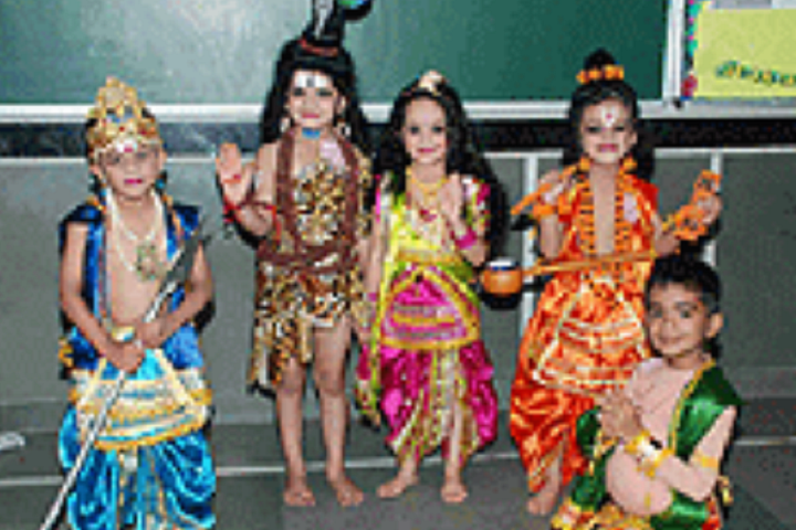 Vikas Bharti Public School-Fancy Dress