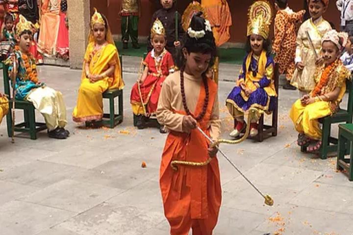 Vishwa Bharti Public School-Dussera Celebrations
