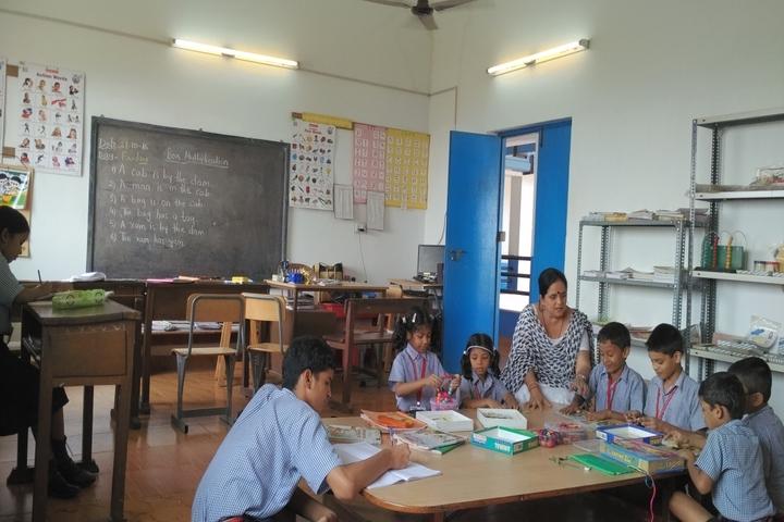 Bharatiya Vidya Bhavans Narayan Bandekar School-Art