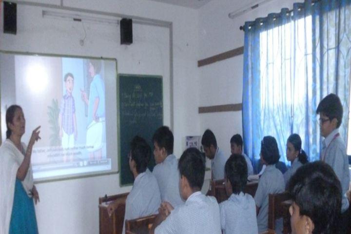Bharatiya Vidya Bhavans Narayan Bandekar School-Smart Class