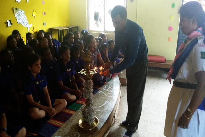 Kendriya Vidyalaya No 1 -Lighting The Lamp