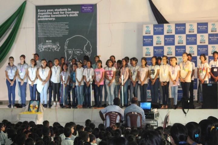 Litera Primary Zee School-Teachers Day