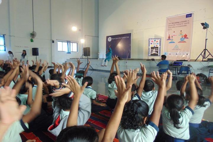 Litera Primary Zee School-Yoga Day