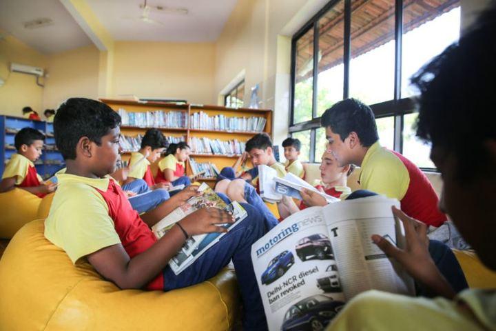 Sunshine Wldwide Secondary School-Library