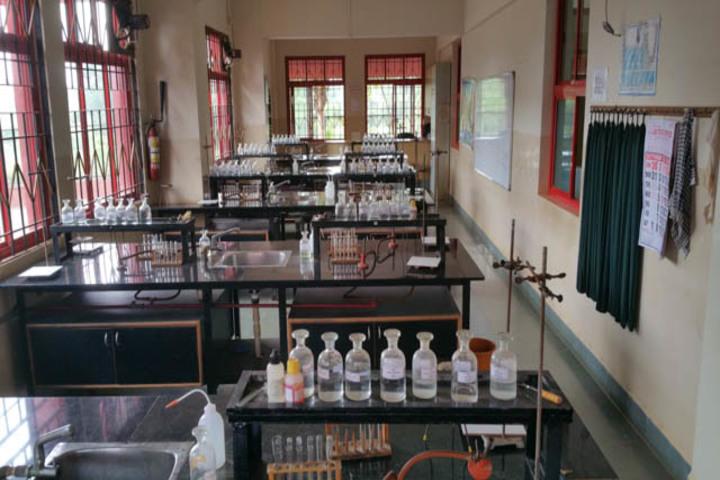 Vidya Vikas Academy-Chemistry Lab