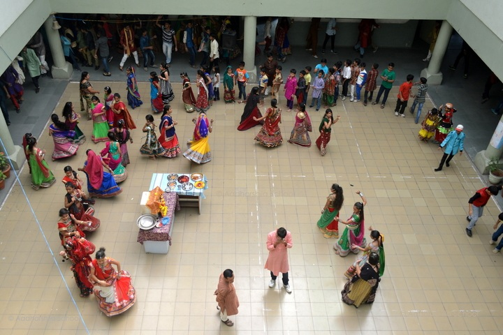 Aadharshila School-navratri celebration