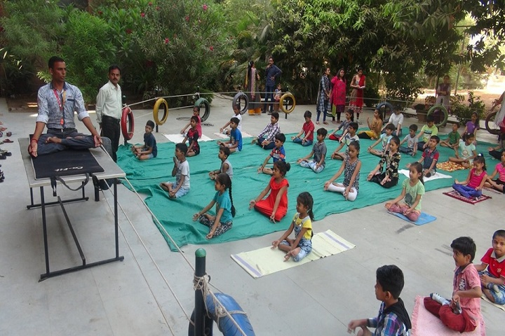 Academic Heights Public School-Yoga