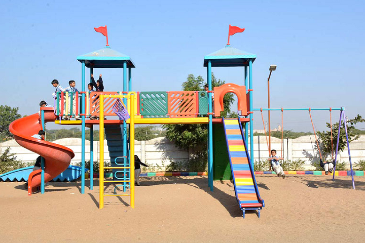 Academic Heights Public School-Kids play area