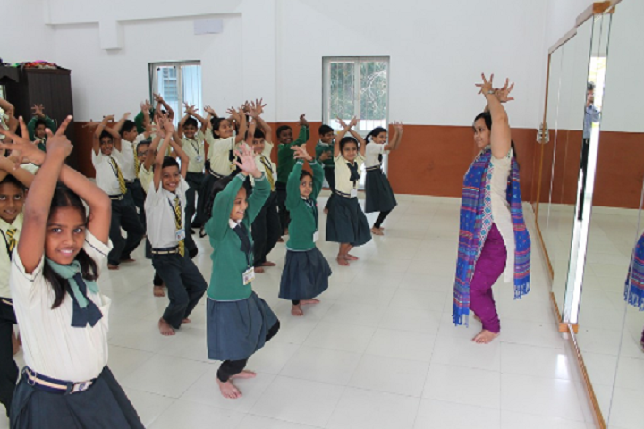 Adani Public School-Dance room