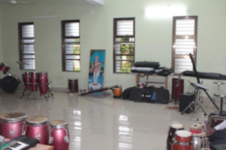 Adani Public School-Music class