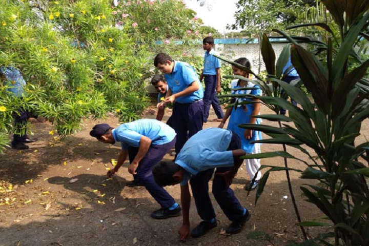 Air Force School-Cleanliness program