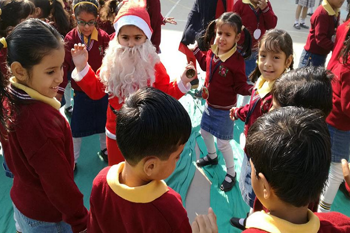 Airport School-Christmas celebration