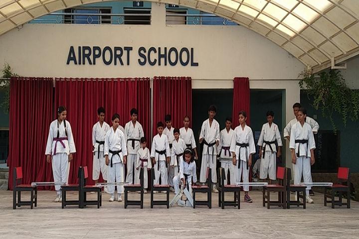 Airport School-Karate class