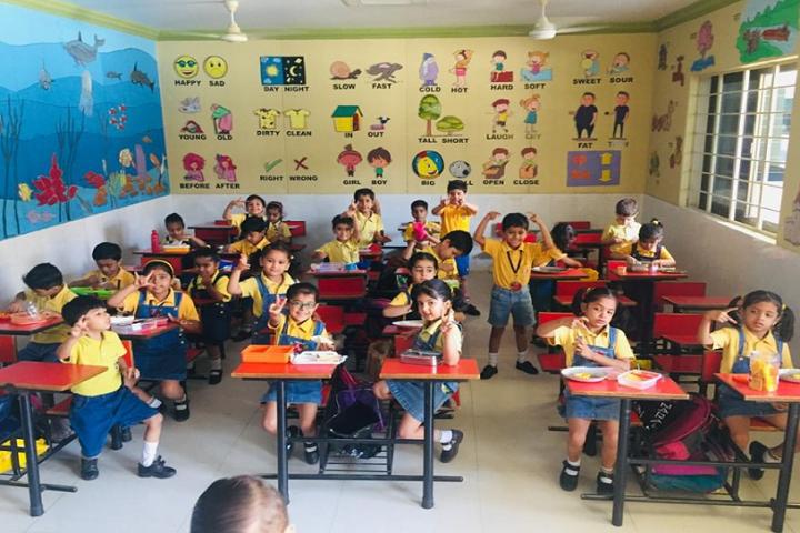 Airport School-Kids Classroom