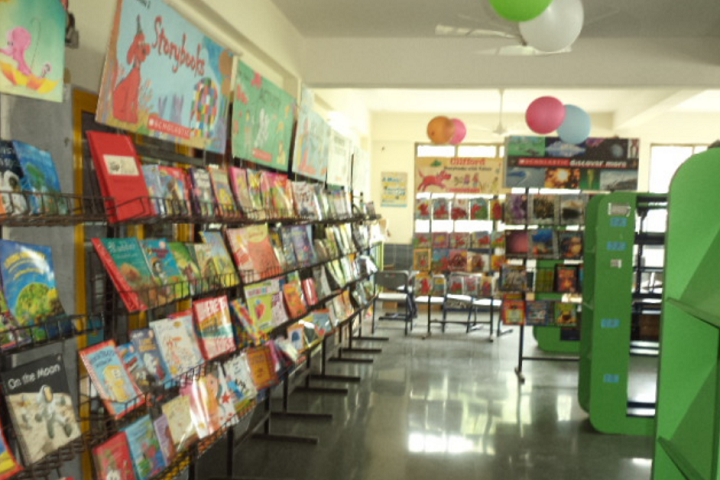 Alchemy School-Library