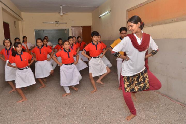 Ambe Public School-Dance Class