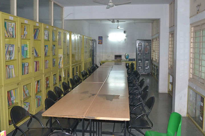 American School Of Baroda-Library