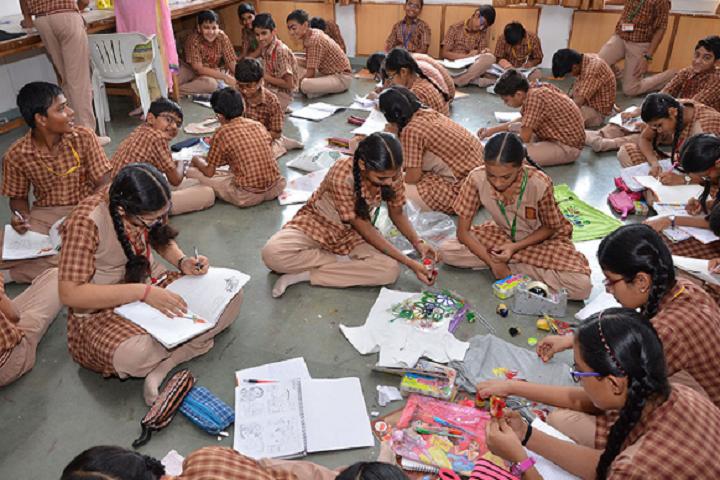 Amrita Vidyalayam-Art and craft