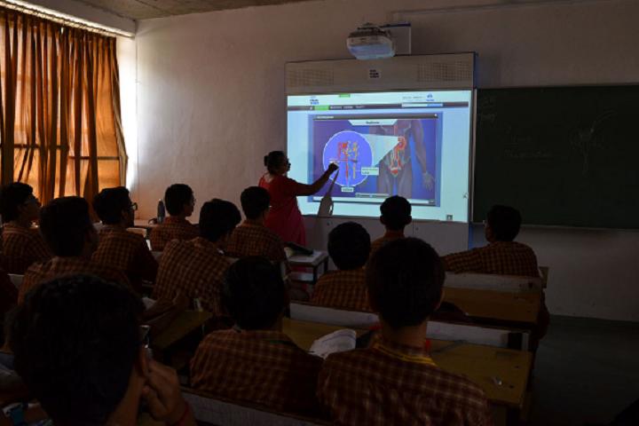 Amrita Vidyalayam-Digital classroom