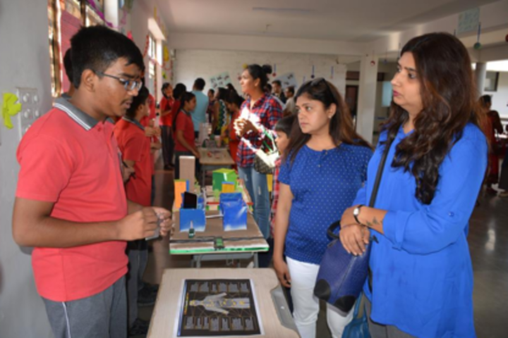 Anand Niketan School-Exhibition
