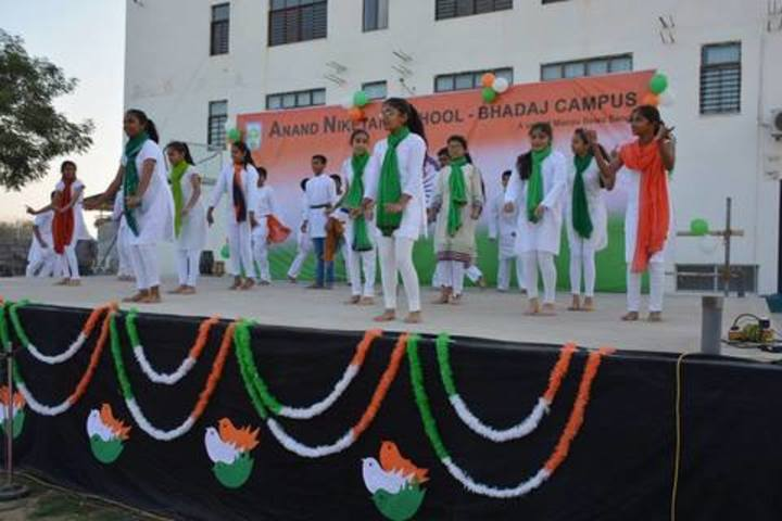 Anand Niketan School-National Day Celebration