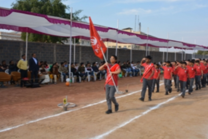 Anand Niketan School-Sports Day Celebration