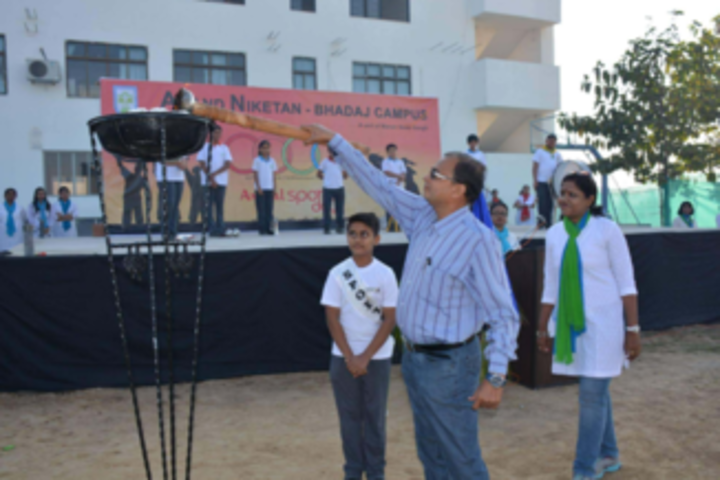 Anand Niketan School-Sports Day