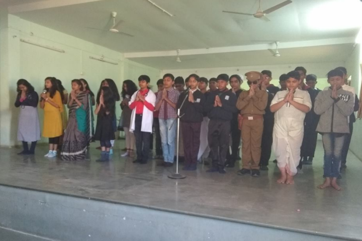 Anand Niketan School-Singing