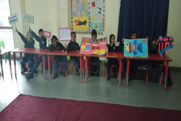 Anand Niketan School-Poster presentation