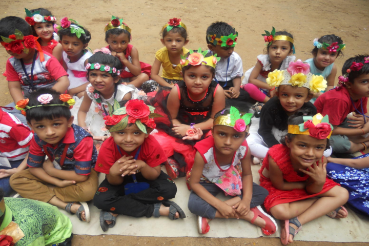 Anandalaya-Flower show activity