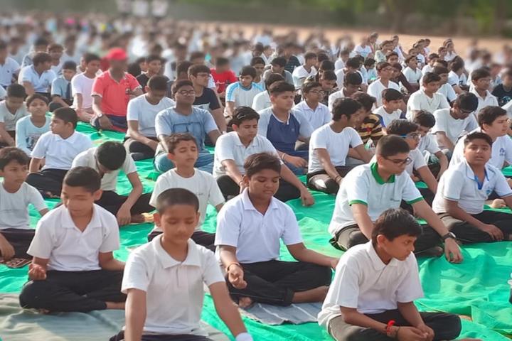Ananya Vidyalaya-Yoga day