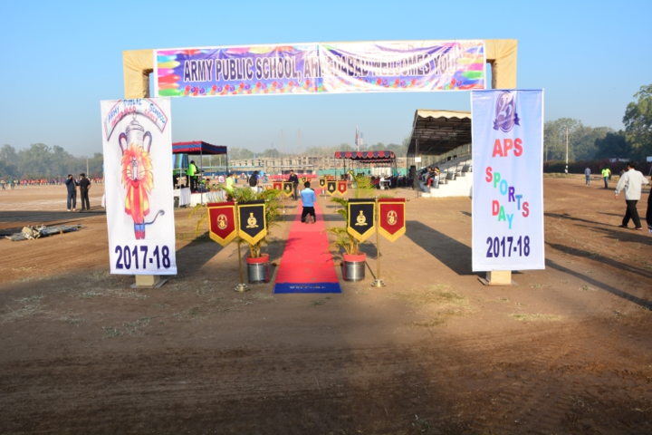 Army Public School-Sports day celebration