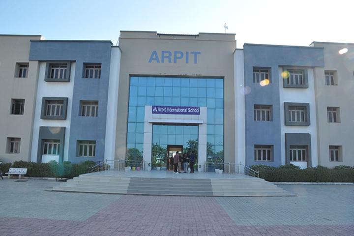 Arpit International School-School View
