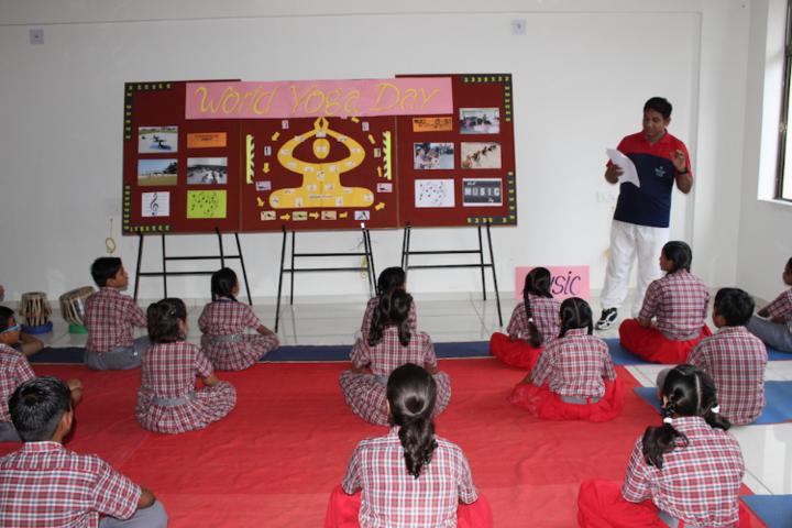 Avalon World School-Yoga day celebrations